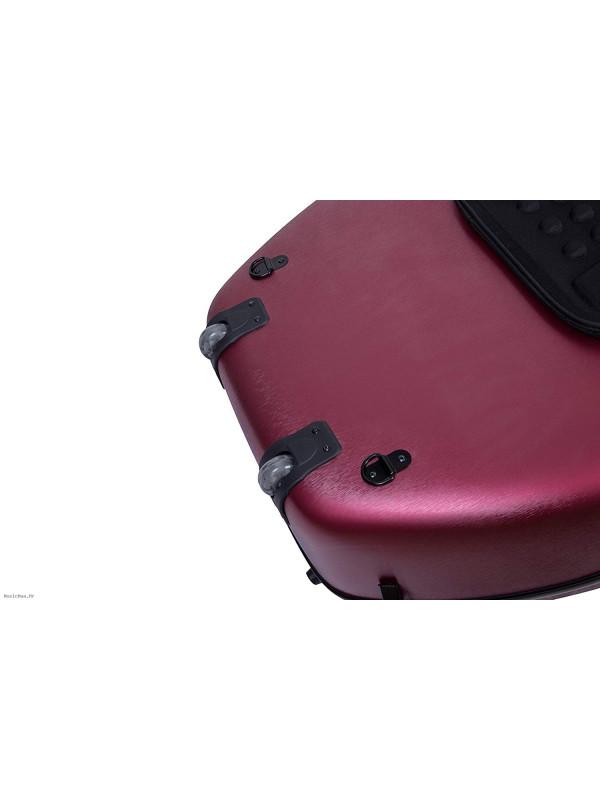 MAXTON MCC-2-5 CELLO CASE 4/4 FIBERGLASS RED RED kofer za violončelo