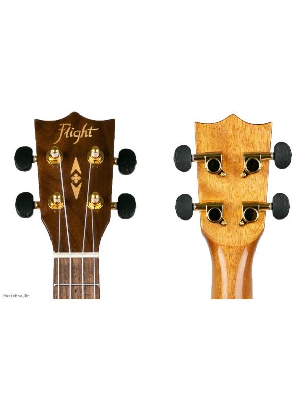 FLIGHT DUC445 Acacia Nat koncert ukulele s torbom