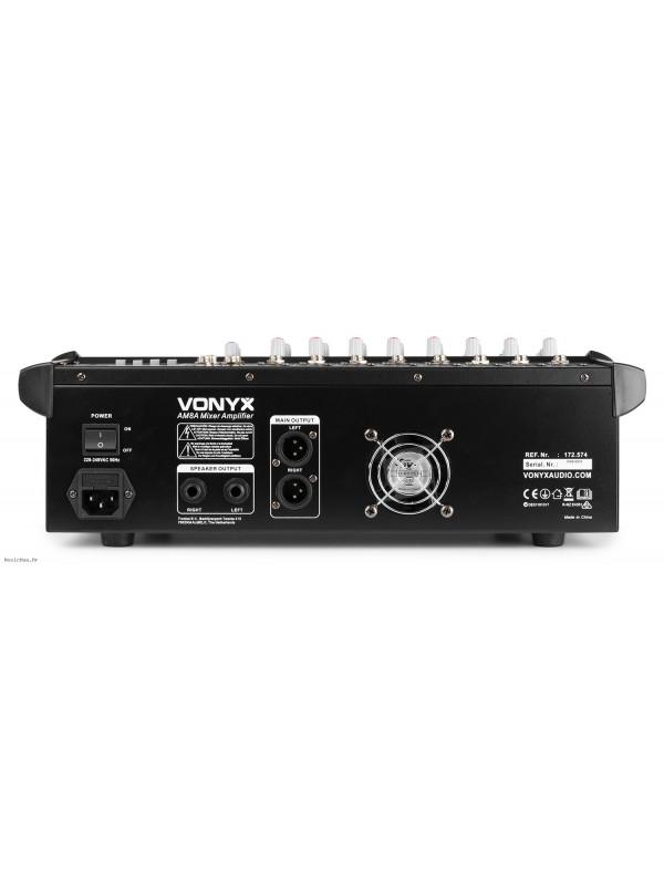 VONYX AMSA 8 2X500W 8 CHANNELS aktivna mikseta