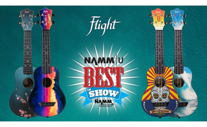 Flight Ukulele na NAMM-u