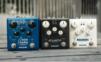NUX Verdugo serija gitarskih pedala